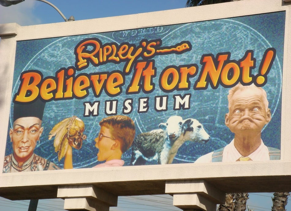 Museu Ripley's Believe It or Not em San Francisco