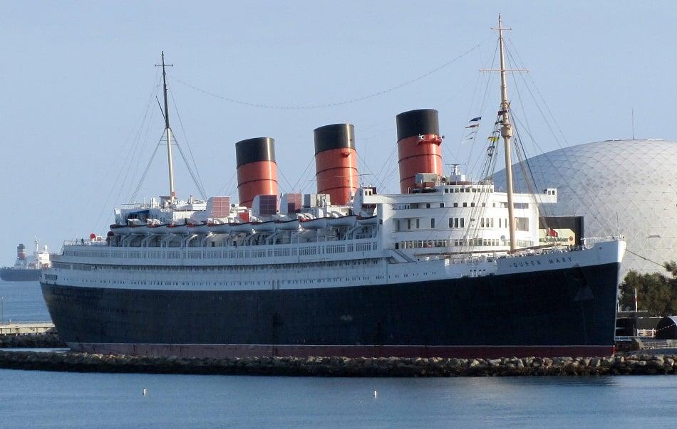 Navio Queen Mary em Long Beach