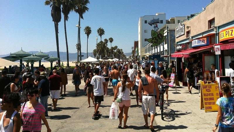 Ocean Front Walk - Venice Beach