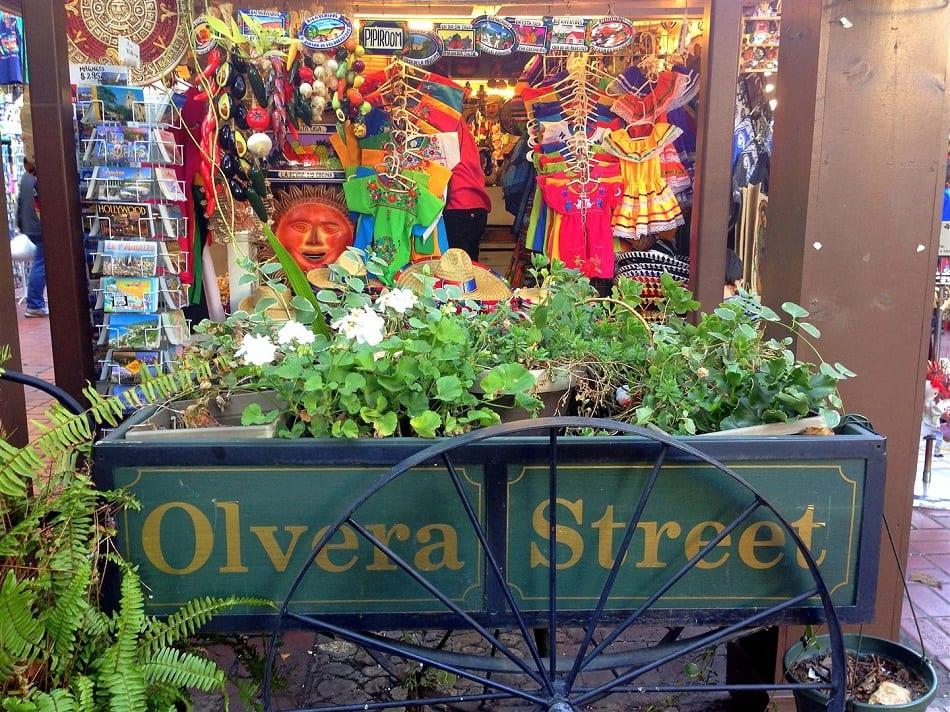 Olvera Street em Los Angeles