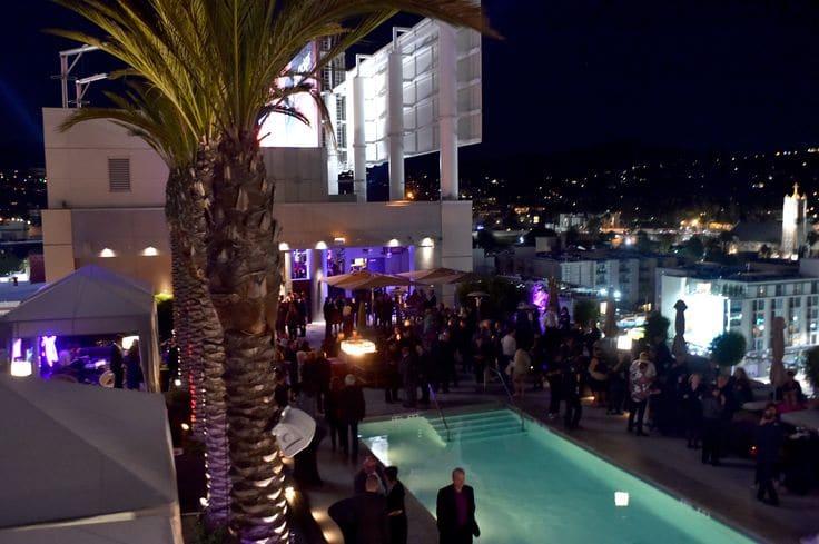 Swanky Rooftop Bar em Los Angeles