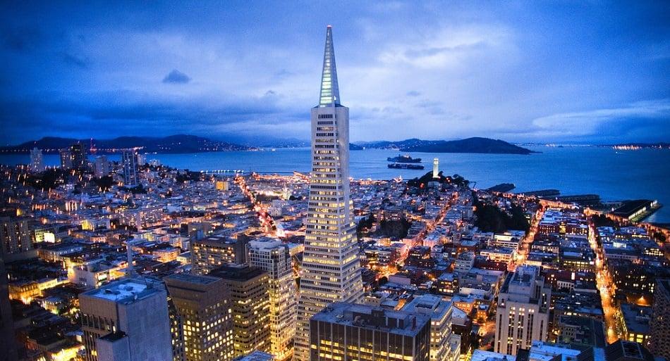 Lua de mel em San Francisco