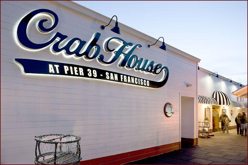 Restaurante Crab House em San Francisco