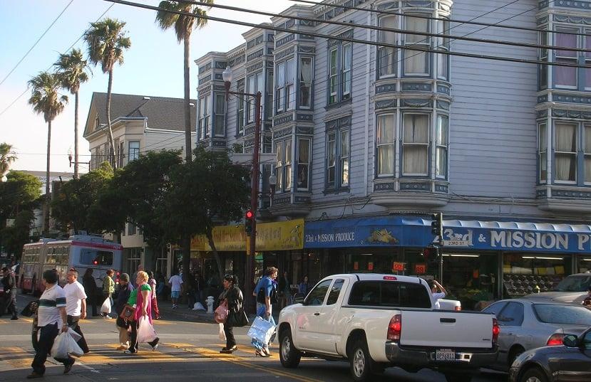 Mission District na cidade de San Francisco