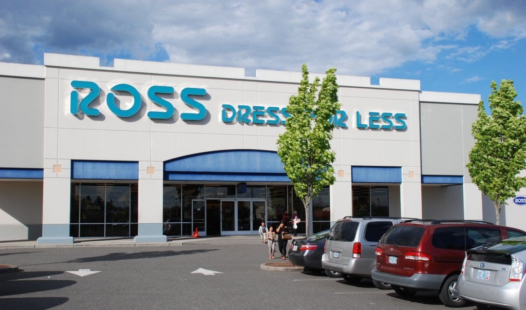 Loja de departamento Ross Dress For Less em San Francisco