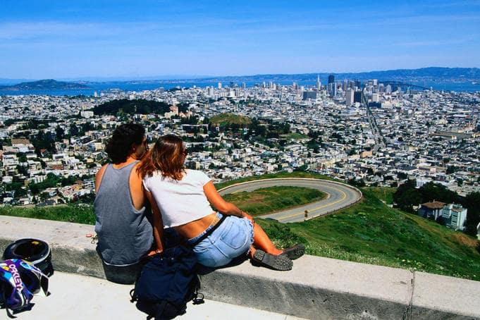 Turista em San Francisco