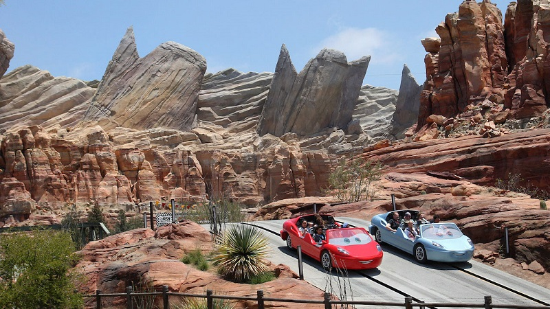 Cars Land no Disney California Adventure Park