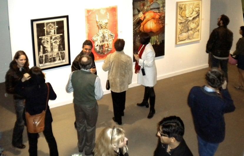 Obras de arte na City Art Gallery San Francisco