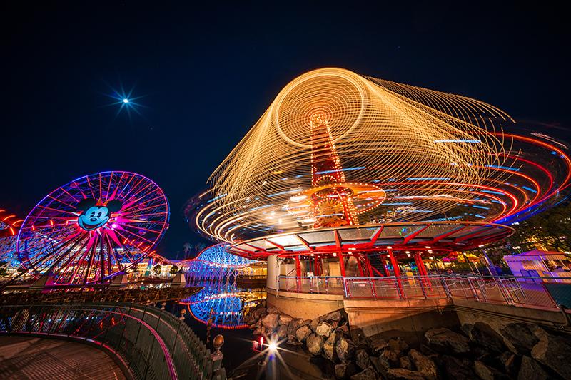 Disney Califórnia Adventure Park na Califórnia