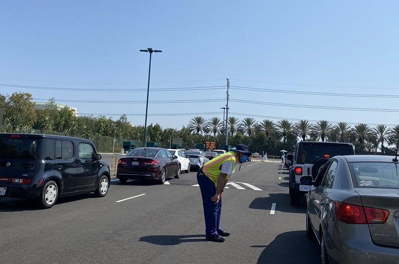 Estacionamento Downtown Disney District California