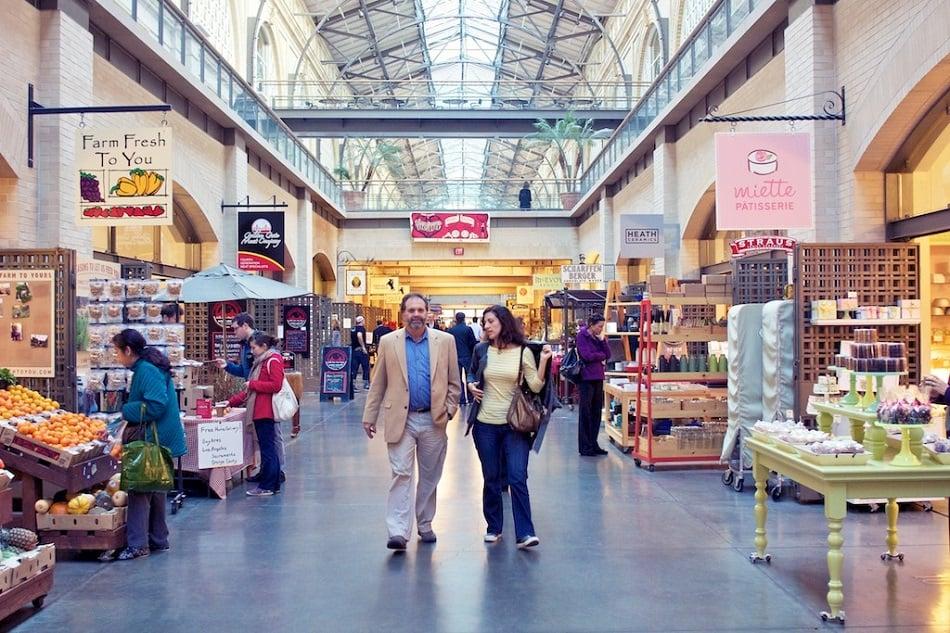 San Francisco Marketplace na Califórnia