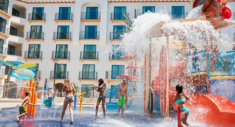 Parque Aquático em Downtown Disney District na Califórnia