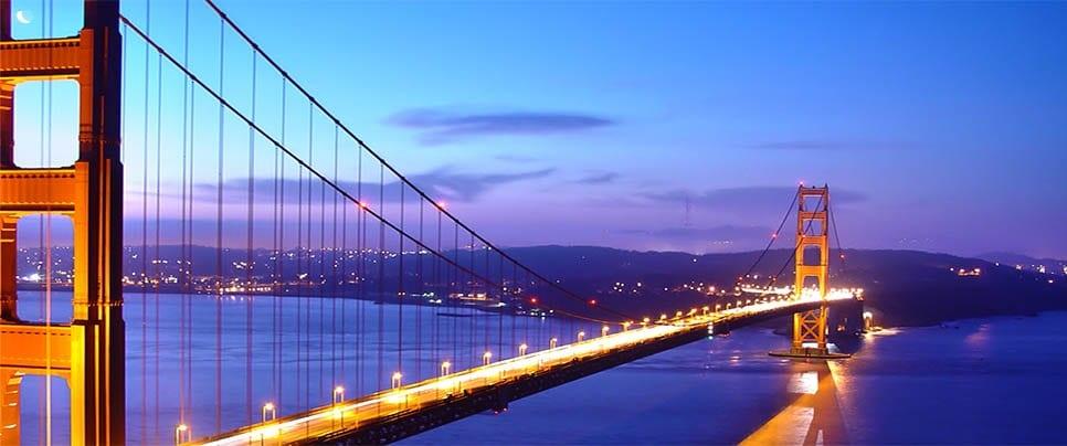 Passeios românticos a pé em San Francisco