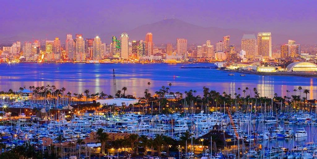 Fuso horário em San Diego x Brasil
