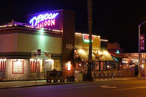 Bar Typhoon Saloon em San Diego