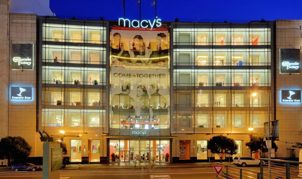 Loja de departamentos Macy's em San Francisco