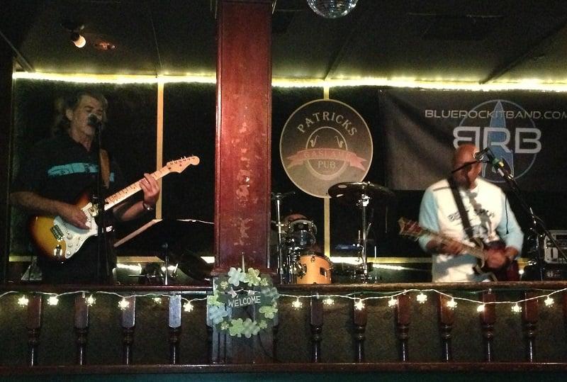 Bar Patrick Gaslamp Pub na região de Gaslamp Quarter em San Diego