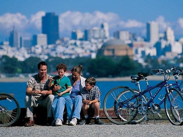 O que fazer com as crianças em San Francisco