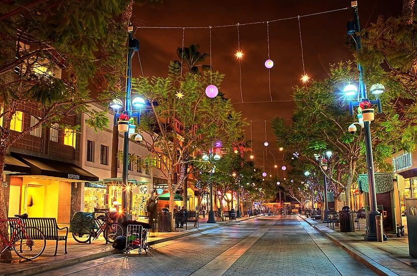 3rd Street em Santa Mônica