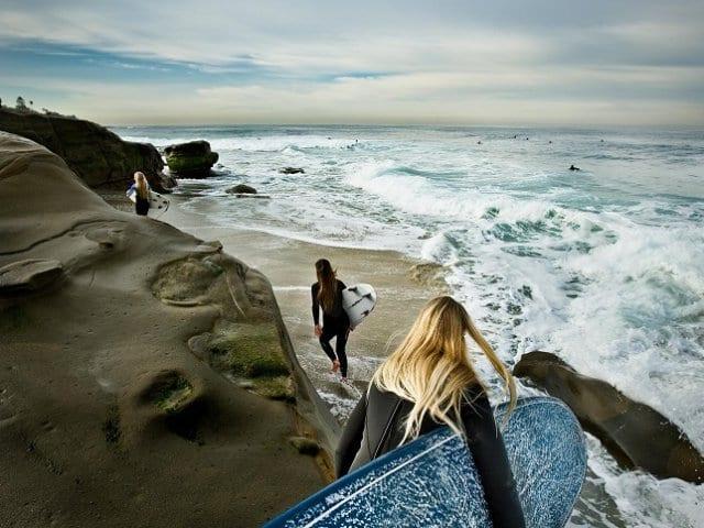 Praias para surfar em San Diego