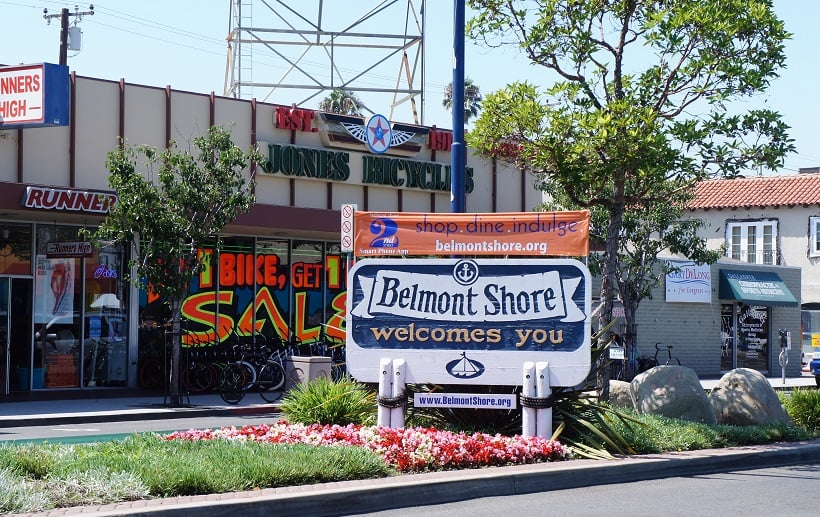 Belmont Shore em Long Beach