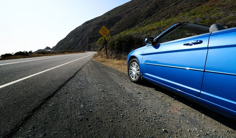 Benefícios de dirigir na Califórnia