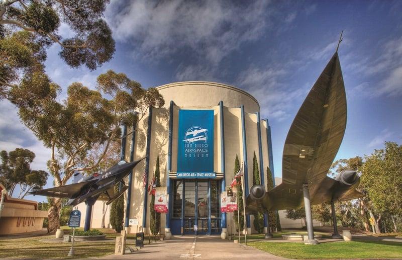 Museus no Balboa Park em San Diego