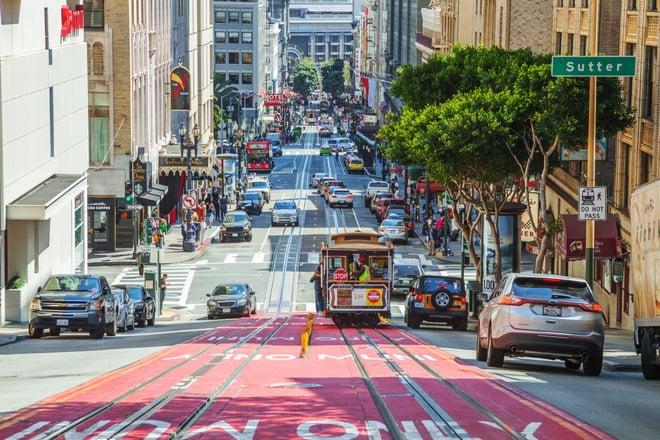 Regras de trânsito em San Francisco