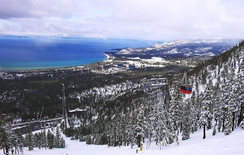 Lake Tahoe na Califórnia