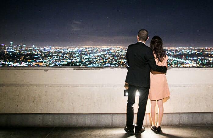 Lua de mel no Griffith Park em Los Angeles