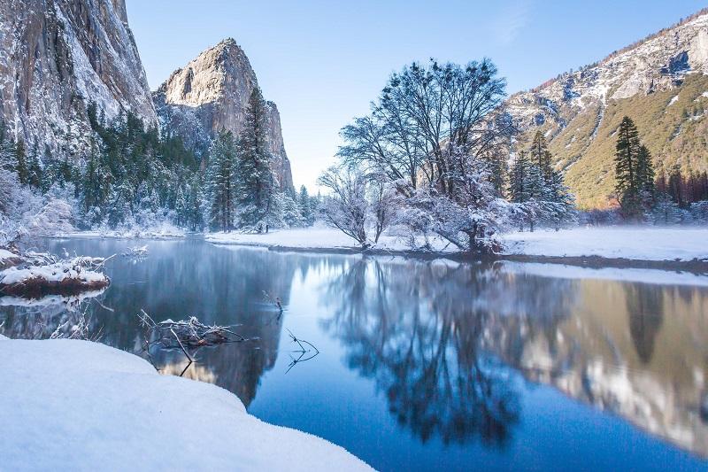 Yosemite Valley - na Califórnia