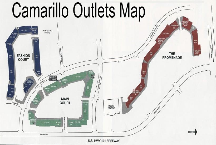 Camarillo Premium Outlet em Los Angeles