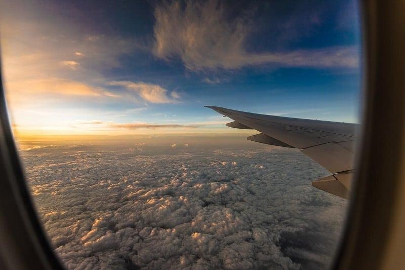 Avião em Los Angeles