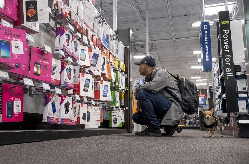 Iphones na Best Buy em Los Angeles