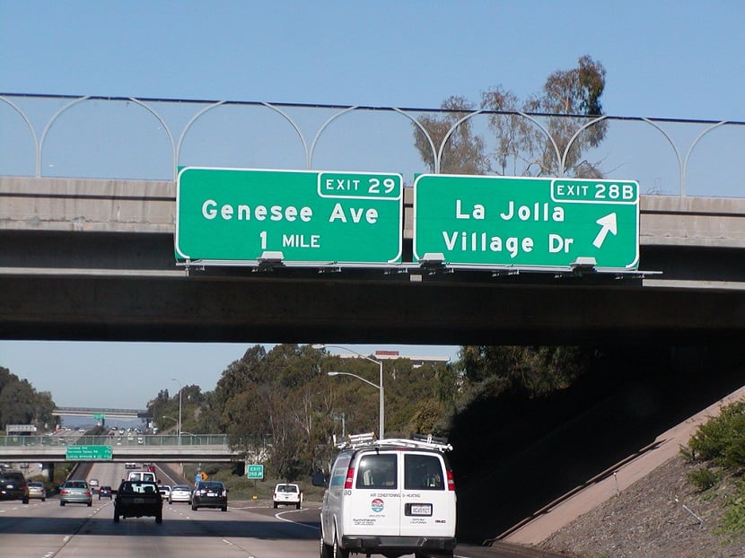 Lojas em La Jolla Village Drive
