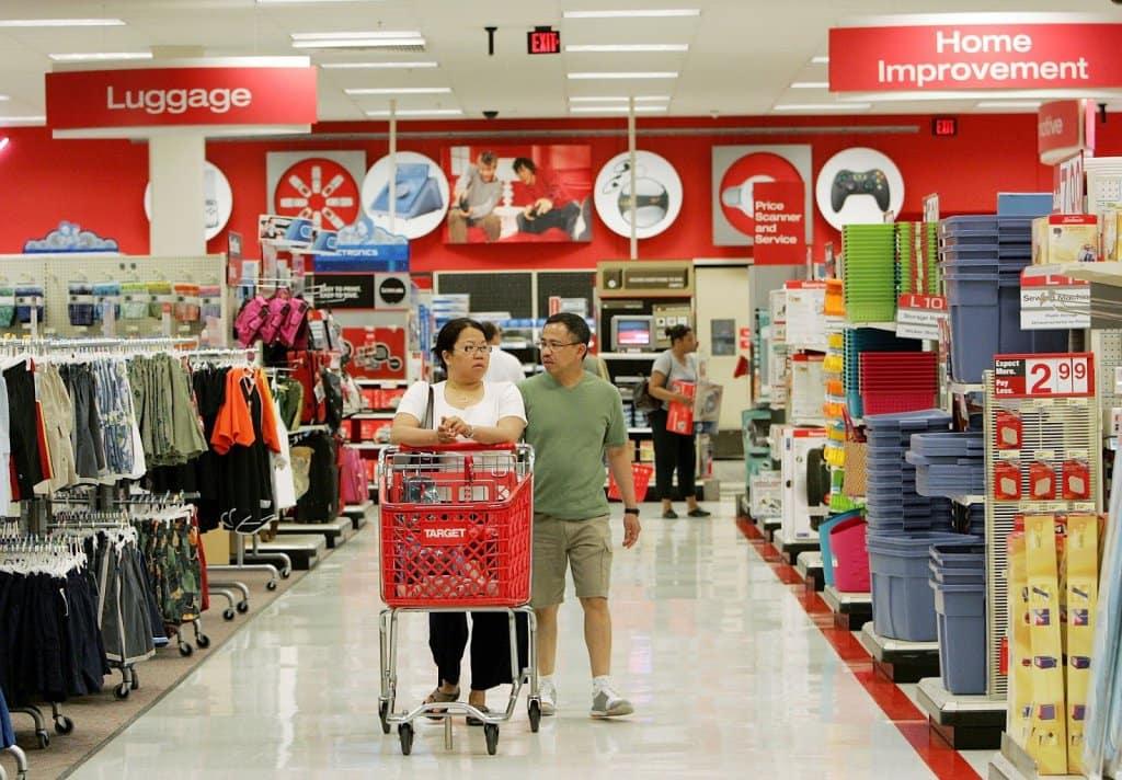 Loja Target na Califórnia