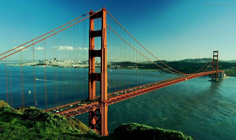 Ponto Golden Gate em San Francisco