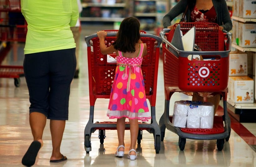Compras na Target na Califórnia