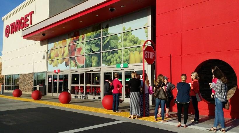 Lojas Target na Califórnia
