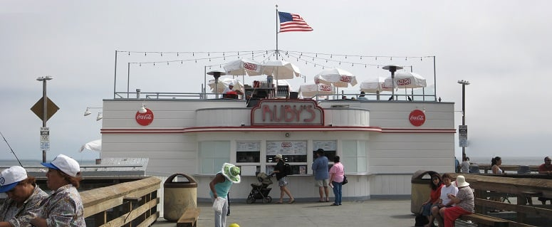 Balboa Pier em Newport Beach