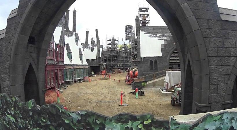 Atração Hogwarts na Universal Studios Hollywood