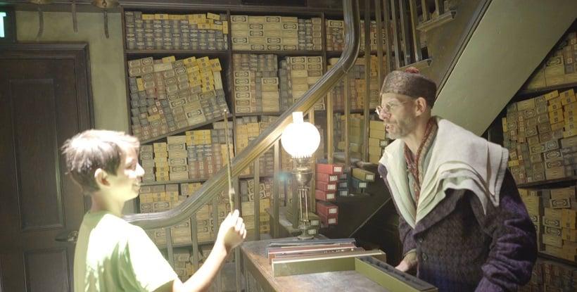 Turistas na Hogwarts na Universal Studios Hollywood