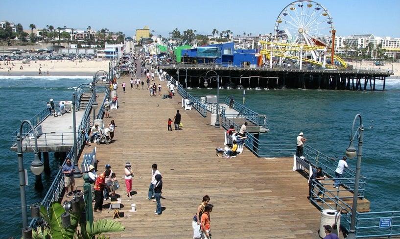 Tour pelas praias em Los Angeles