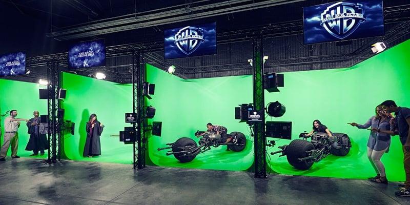 Passeio pela Warner Bros em Los Angeles