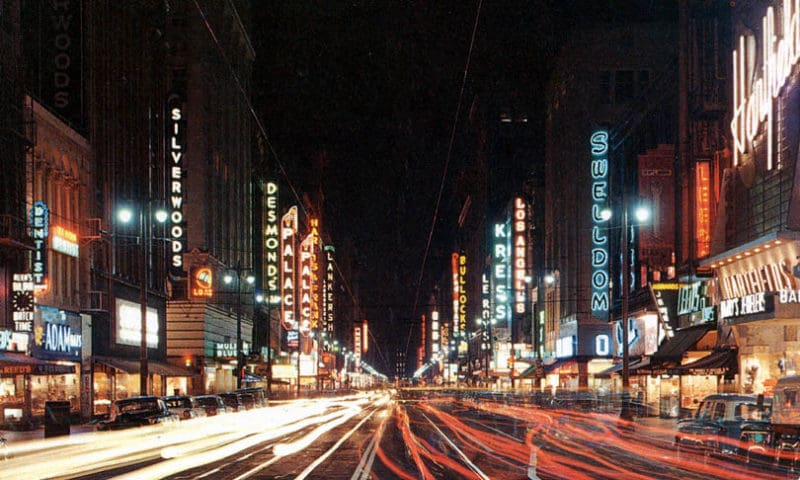 Broadway em Downtown Los Angeles