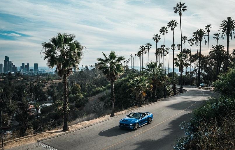 Carro em Los Angeles