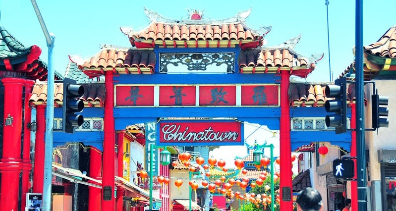 Chinatown em Downtown Los Angeles