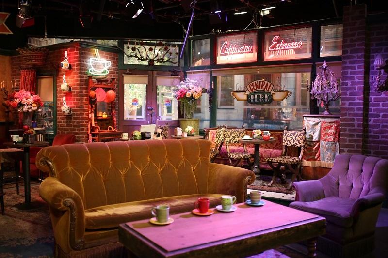 Cenário Friends no Estúdios Warner Bros