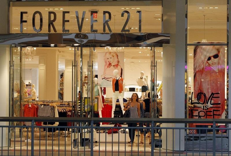 Loja Forever 21 em San Diego