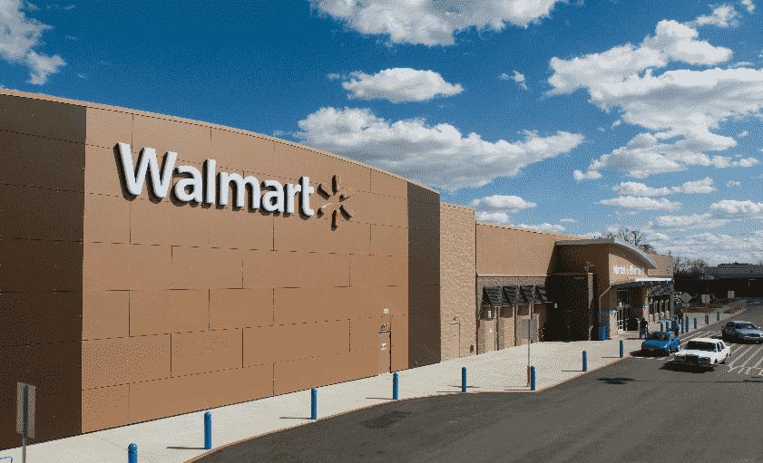Loja de departamento Walmart em Los Angeles